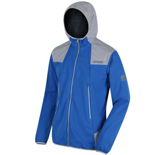 Regatta STATIC IV LIGHTWEIGHT SOFTSHELL - Oxford Blue / Light Steel